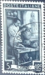 Stamps Italy -  Intercambio 0,20 usd 5 l. 1950
