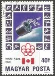 Stamps Hungary -  Juegos Olímpicos de Montreal 1976