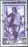 Sellos del Mundo : Europa : Italia : Intercambio jcs 0,20 usd 50 l. 1950