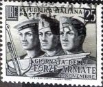 Sellos de Europa - Italia -  Intercambio 0,20 usd 25 l. 1952