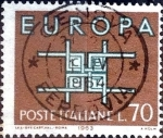 Stamps : Europe : Italy :  Intercambio jcs 0,25 usd 70 l. 1963