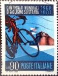 Sellos de Europa - Italia -  Intercambio cr2f 0,20 usd 90 l. 1968