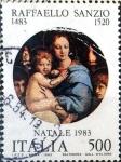 Sellos de Europa - Italia -  Intercambio cr2f 0,30 usd 500 l. 1983