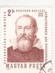 Stamps Hungary -  Galileo Galilei 1564-1642