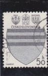 Sellos de Europa - Checoslovaquia -  escudo de