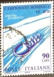 Sellos de Europa - Italia -  Intercambio 0,20 usd 90 l. 1966