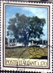 Sellos de Europa - Italia -  Intercambio 0,20 usd 170 l. 1966