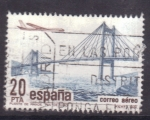 Stamps Spain -  correo aéreo