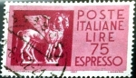 Stamps of the world : Italy :  Intercambio 0,20 usd 75 l. 1958