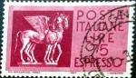 Sellos de Europa - Italia -  Intercambio 0,20 usd 75 l. 1958