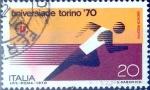 Stamps Italy -  Intercambio 0,20 usd 20 l. 1970