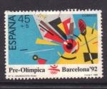 Stamps Spain -  barcelona' 92