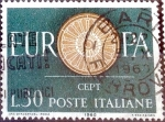 sello : Europa : Italia : Intercambio 0,20 usd 30 l. 1960