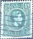Stamps : America : Jamaica :  Intercambio 0,20 usd 1/2 p. 1938