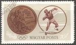 Stamps Hungary -  Juegos Olímpicos de Tokio 1964