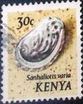 Sellos de Africa - Kenya -  Intercambio 0,20 usd 30 cent. 1971