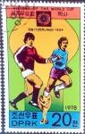 Stamps North Korea -  Intercambio 0,20 usd 20 ch. 1978