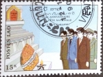 Stamps : Asia : Laos :  Intercambio 0,20 usd 15 k. 1990