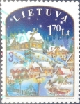 Stamps : Europe : Lithuania :  Intercambio crxf 0,50 usd 1,70 lt. 2003