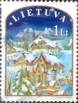 Stamps : Europe : Lithuania :  Intercambio crxf 0,45 usd 1,00 lt. 2003