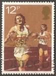 Stamps United Kingdom -  Carreras