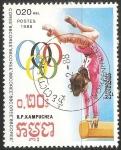 Sellos de Asia - Camboya -  Juegos Olímpicos de Seúl 1988
