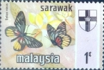 Stamps : Asia : Malaysia :  Intercambio 0,85 usd 1 cent. 1971