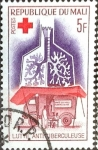 Stamps : Africa : Mali :  Intercambio 0,20 usd 5 fr. 1965