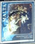Sellos de Europa - Malta -  Intercambio 0,40 usd 6 cent. 1998
