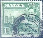Stamps : Europe : Malta :  Intercambio 0,20 usd 1 p. 1943