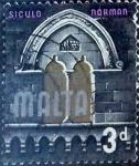Stamps : Europe : Malta :  Intercambio 0,20 usd 3 p. 1965