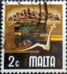 Sellos del Mundo : Europa : Malta : Intercambio 0,20 usd 2 cent. 1973