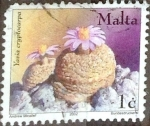 Stamps : Europe : Malta :  Intercambio 0,20 usd 1 cent. 2002