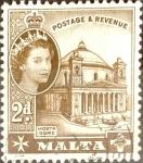 Sellos de Europa - Malta -  Intercambio 0,20 usd 2 p.1956