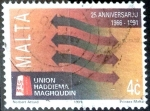 Sellos de Europa - Malta -  Intercambio 0,30 usd 4 cent. 1991