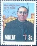 Stamps : Europe : Malta :  Intercambio 0,20 usd 3 cent. 1983