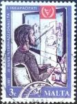 Sellos del Mundo : Europa : Malta : Intercambio crf 0,20 usd 3 cent. 1981