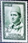 Stamps : Africa : Morocco :  Intercambio 0,35 usd 3 ptas. 1957