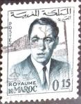 Sellos de Africa - Marruecos -  Intercambio 0,20 usd 15 cent. 1962