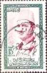 Stamps : Africa : Morocco :  Intercambio 0,20 usd 15 fr.  1956