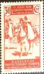 Stamps Spain -  Intercambio cr3f 0,25 usd 30 cent. 1937