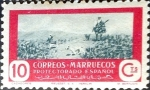 Stamps : Europe : Spain :  Intercambio fd4a 0,20 usd 10 cent. 1950