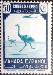 Stamps Spain -  Intercambio jxi 0,20 usd 50 cent. 1943