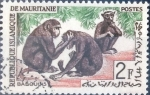 Stamps : Africa : Mauritania :  Intercambio nfxb 0,20 usd 2 fr. 1963