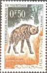 Stamps : Africa : Mauritania :  Intercambio 0,20 usd 0,50 fr. 1963