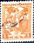 Stamps : America : Mexico :  Intercambio 0,20 usd 1 cent. 1937