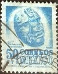Stamps Mexico -  Intercambio 0,20 usd 50 cent. 1950