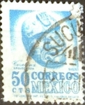Stamps of the world : Mexico :  Intercambio 0,20 usd 50 cent. 1950