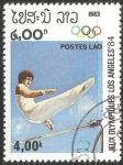 Stamps Laos -  Juegos Olímpicos de Los Ángeles 1984