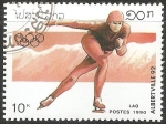 Sellos del Mundo : Asia : Laos : Juegos Olímpicos de Albertville 1992